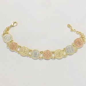 Jewelry - Gold Plated St Benito Bracelet